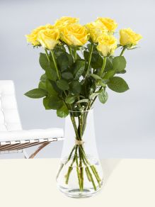 10 yellow roses - Good Times
