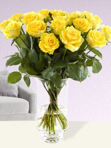 20 yellow roses - Good Times