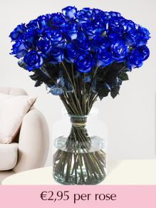 Blue roses – choose your number