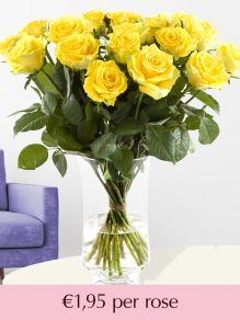 Yellow roses – choose your number