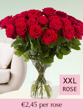 Red roses – choose your number