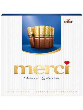 Merci Finest Selection chocolate 250gr