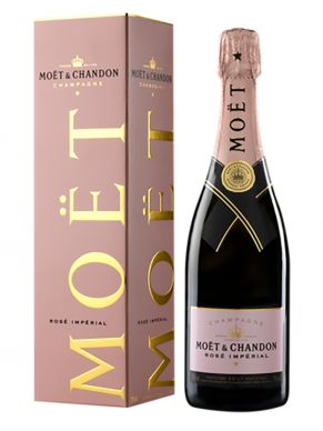Moët & Chandon Champagne Impérial Rosé in gift box 0,75l