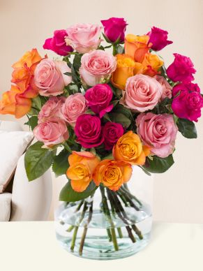 Three coloured bouquet - Tacazzi