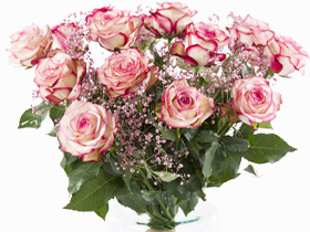 Pink rose bouquet Paloma